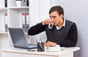 drinking water and workplace productivity