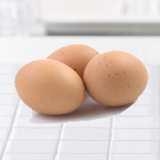 Eggs on kitchen counter